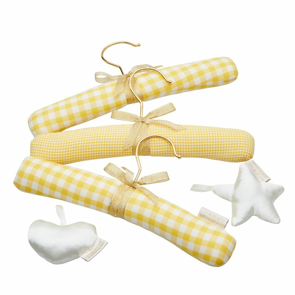 Baby Hanger Set Yellow