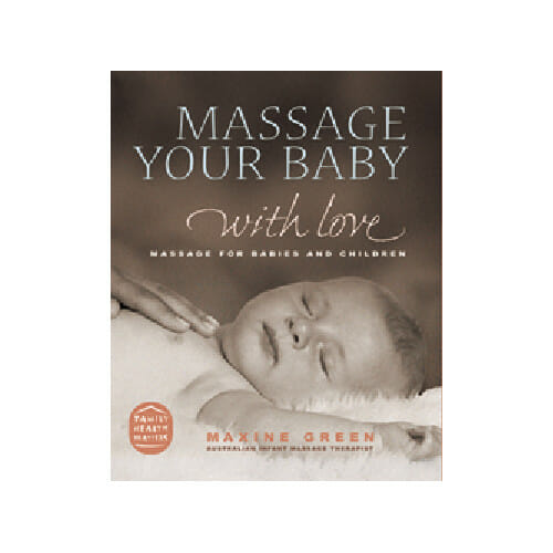 Aromababy Baby Massage book