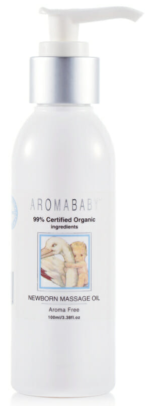 newborn massage oil