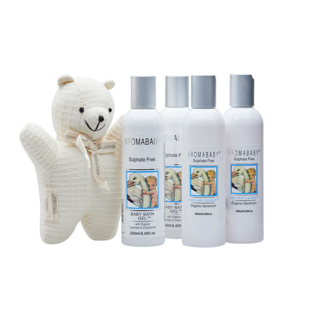Aromababy Bath Time Set free teddy